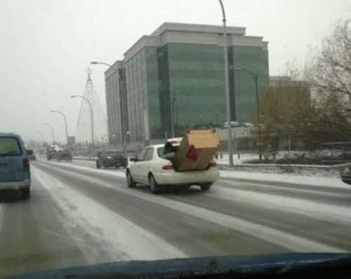 Хитрі вантажоперевезення - автоприколы