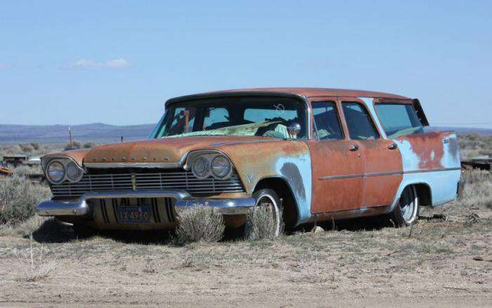 Автомобільне звалище в США