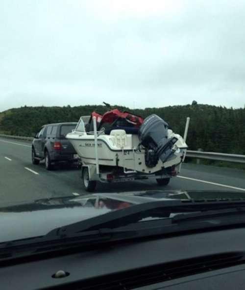 Божевільні вантажоперевезення - люті автоприколы