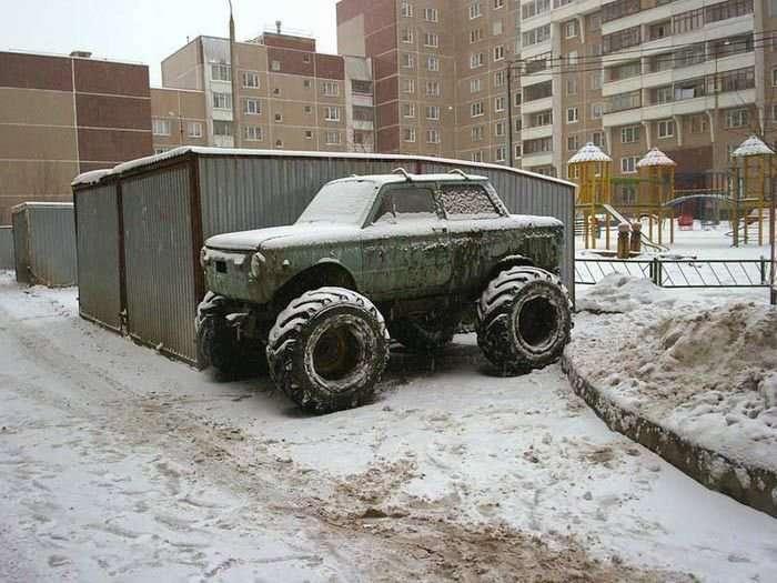 Прикольний тюнінг автомобілів
