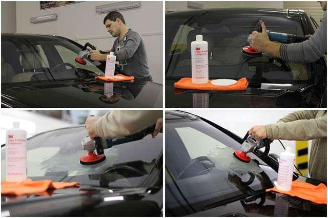 Как сделать ремонт автостекла