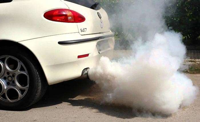 Car exhaust is a source of carbon monoxide.